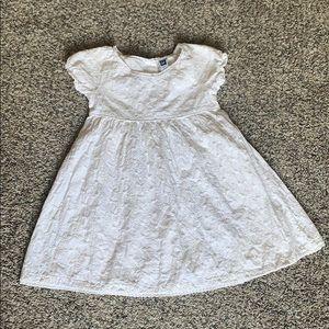 3/$20🖤18-24m Baby Gap White Dress